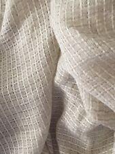Tissu voilage filet coton et lin en 150 cm de large au mètre