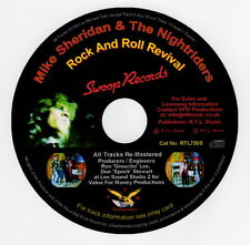Mike Sheridan and The Nightriders, Rock And Roll Revival CD  Cat No: RTL7505