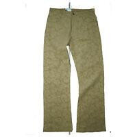 PHÖNIX Augusto Herren Cord Hose Jeans stretch Bootcut Gr.50 W30 L34 Beige NEU