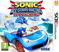 Sonic & All Stars Racing Transformed For UK / EU 3DS (New & Sealed)