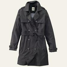 Timberland 7633J Rosebrook Waterproof Trench Coat Jacket Black Womens X-Large