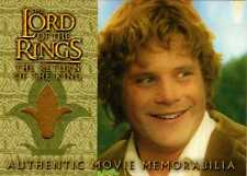 Lord of the Rings Return of the King Update Sam's Wedding Jacket Costume Card