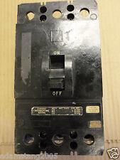 Square D Kal Kal36225 3 pole 225 amp 600v Circuit Breaker Black Frame Flaw
