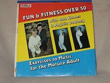 Bob Kames & Phyllis Downey Fun & Fitness Over 50 1983 GNP Crescendo Sealed LP