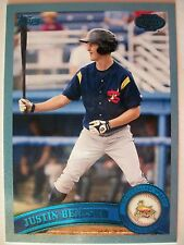 2011 TOPPS PRO DEBUT BLUE JUSTIN BENCSKO # 10 !!,BOX # 31