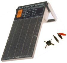 PANEL SOLAR CARGADOR BATERIAS 0.6W SALIDAS 3-6-9 Y 12V JUEGO MULTICLAVIJA BD6253