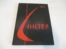New ListingHillsboro High School yearbook 1962 - Hillsboro, Illinois