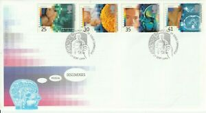 27 SEPTEMBER 1994 MEDICAL DISCOVERIES ROYAL MAIL FIRST DAY COVER CAMBRIDGE SHS k