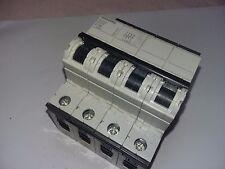 SIEMENS 5SY66 MCB C16 16 A 4 POLOS MAGNETOTERMICO CIRCUIT BREAKER G
