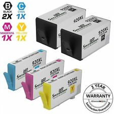 5 BLACK COLOR 920 XL 920XL set CD975AN Ink Cartridge for HP 6000 6500 6500A Plus
