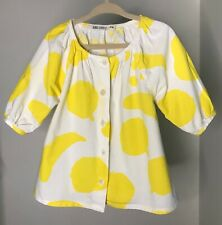 Bobo Choses Cotton Yellow Print Top 2-3Y