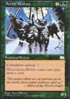 4x Arctic Wolves MTG Weatherlight NM Magic Regular