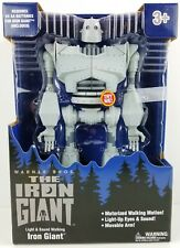 "Warner Brothers Light & Sound Walking Iron Giant 14"" Figure Walmart Exclusive"