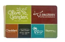 Olive Garden Cheddar's Yard House Bahama Breeze Gift Card