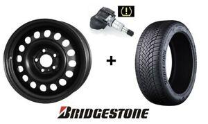 4x Winterräder Mercedes B-Klasse W246, W245G 205/55R16 Bridgestone Reifen RDKS!