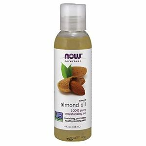 NOW Solutions, Sweet Almond Oil, 100% Pure Moisturizing Oil, Promotes Healthy-Lo