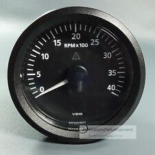 VDO  VIEWLINE ELEKTRONISCHER  DREHZAHLMESSER - 4000UPM  85MM TACHOMETER 12 + 24V