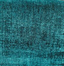 SAMELSON CHENILLE PERFORMANCE UPHOLSTERY FABRIC AMALFI IN BALTIC BY THE YARD