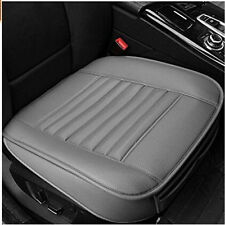 PU Car Bamboo Charcoal Seat Cover Cushion Seat Full Surround Protector Pad Gray