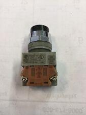 IDEC Model: AWB201-B Black Pushbutton Switch with ABW Block <