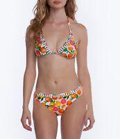Nanette Lepore NWT Tutti Fruitti Halter Top & Bikini Bottom Set Reversible
