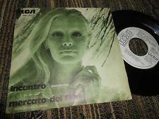"""PATTY PRAVO Incontro/Mercato dei fiori 7"""" 45 1975 RCA Victor *SPAIN* PROMO"""