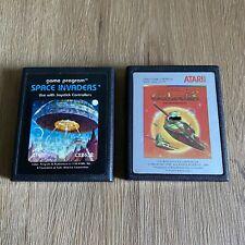 Atari 2600 Space Invaders And Galaxian Game Bundle