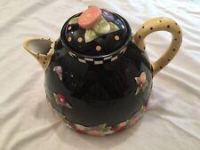 1996 Mary Engelbreit At Home Charpente Michel Ceramic Teapot Mib