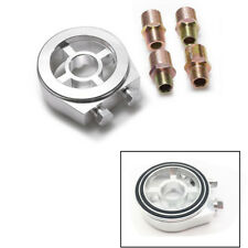 Silver Oil Filter Sandwich Plate Adapter with M20x1.5/M22/1.5/M18x1.5/3/4-16 UNF