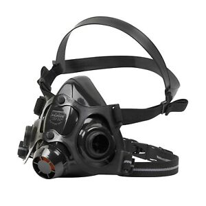HONEYWELL NORTH 770030 M Medium Respirator Face Piece Silicone 1 Each