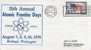 ATOMIC FRONTIER DAYS,  RICHLAND, WASH 1958  FDC9569