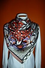 """Rare Hermes Foulard, Carre, Tuch, Scarf """"Steeple Chase"""" Original"""