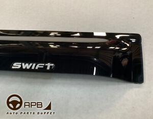 For Suzuki Swift 17-on logo Deflector Window Visors Guard Vent Weather Shield
