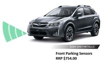 GENUINE SUBARU XV DARK GREY FRONT PARKING SENSORS KIT MY12 - MY14 SAVE $525 NEW