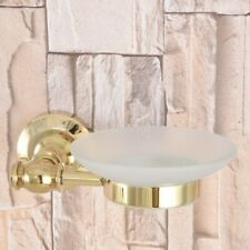 Gold Color Brass Washroom Wall Mounted Soap Dish/soap Holder Gba306