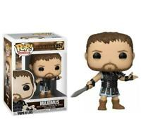 "GLADIATOR MAXIMUS 3.75"" POP MOVIES VINYL FIGURE FUNKO 857 BRAND NEW"