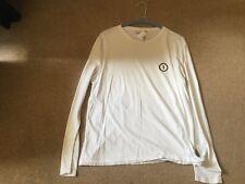 Tru Trussadi luxury cotton long sleeve t shirt RRP 80.00 white smart luxury new