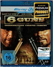 6 Guns - Special Edition (Blu-ray 3D + 2D) Film - NEU & OVP