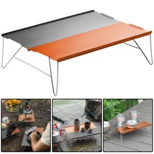 Ultralight Folding Camping Table Portable Aluminum Garden Picnic BBQ Party Desk