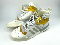 Adidas Rivalry Rm Boost Men's White Mustard Leather Shoes F34144 Size 13.5 New