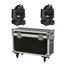 Showtec Phantom 65W LED Spot Moving Head Prism Gobo Lighting inc Pro Flightcase