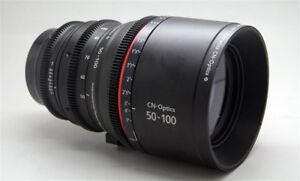 Cinematics cine sigma 50-100 canon ef for bmpcc6k ursa sony fs7 red epic komodo