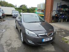 vauxhall astra se auto 2011 unrecorded salvage damaged non runner
