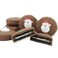 Philadelphia Candies Christmas Holiday Santa Face Milk Chocolate OREO® Cookies