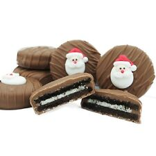 Philadelphia Candies Christmas Holiday Santa Face Milk Chocolate OREO® Cookies