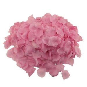 1000pcs Silk Rose Petals Artificial Flower Petal Wedding Party Table Decoration