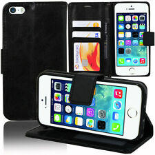 Etui Coque Housse Portefeuille Rabat Cuir PU Apple iPhone 5/ 5S/ iPhone SE