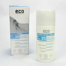 (13,49/100ml) Eco Cosmetics Neutral Sonnenlotion LSF 20 ohne Parfum 100 ml