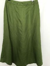 Womens Size 8 Green Below Knee Pencil Straight Skirt - Sports Craft