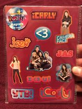iCarly Nickelodeon 12 Magnets Carly Miranda Cosgrove Camera Face New